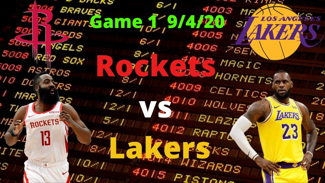 Rockets vs lakers betting preview nfl best online betting sites in nigeria the outside wife