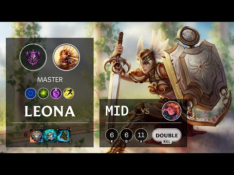 Leona Mid vs Zoe - EUW Master Patch 10.14