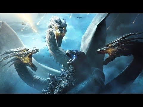 Godzilla King of the Monsters - Godzilla Vs King Ghidorah All Fight Scenes