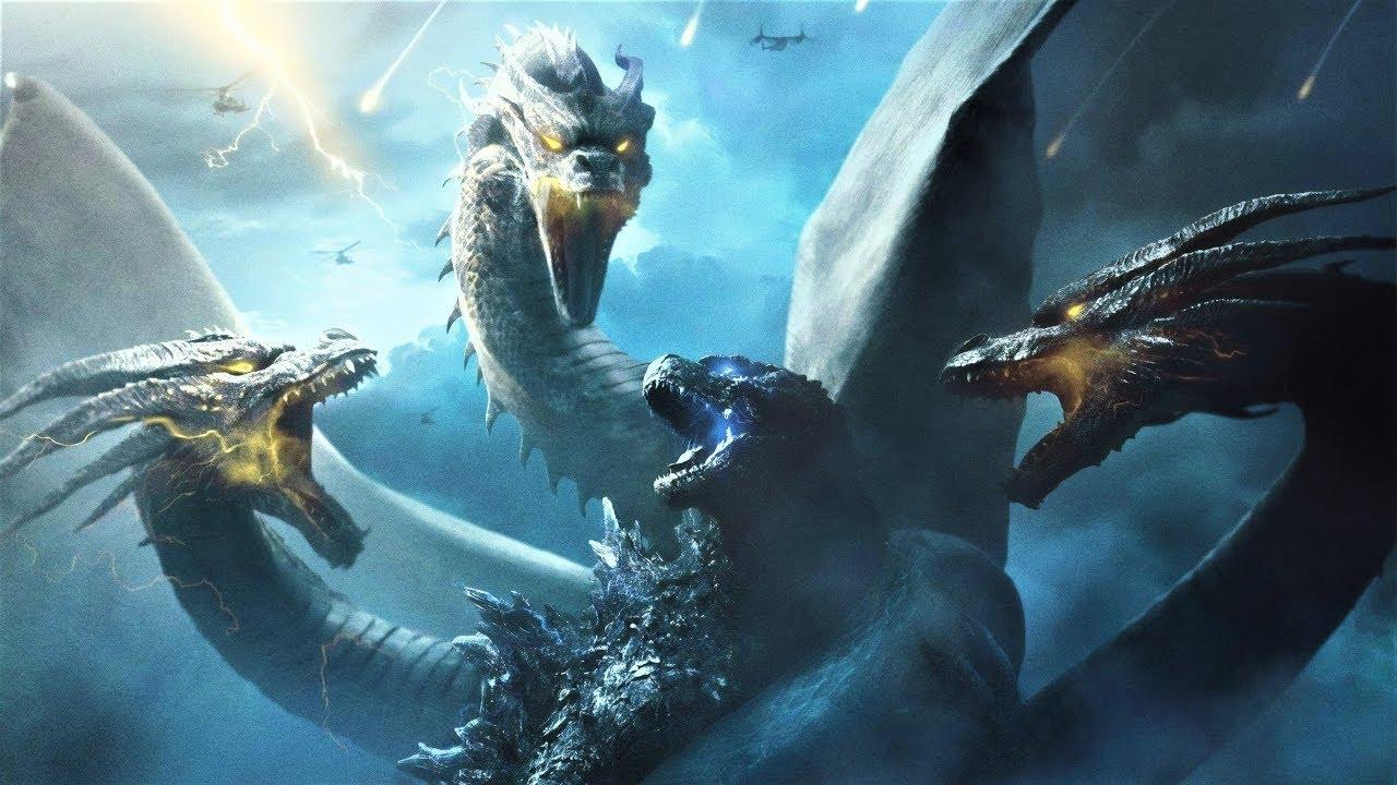 Download Godzilla King of the Monsters - Godzilla Vs King Ghidorah All Fight Scenes