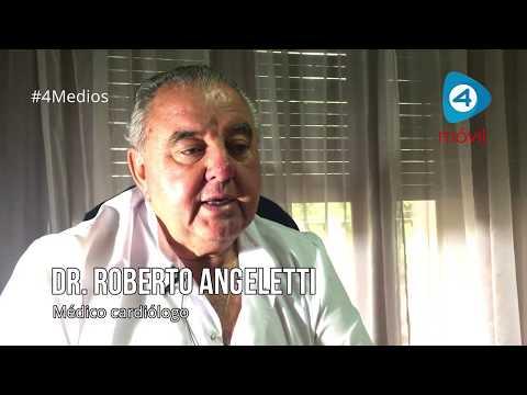 El médico cardiólogo Roberto Angeletti ofrece una charla en la Jornada de Salud del Círculo Médico de Florencio Varela