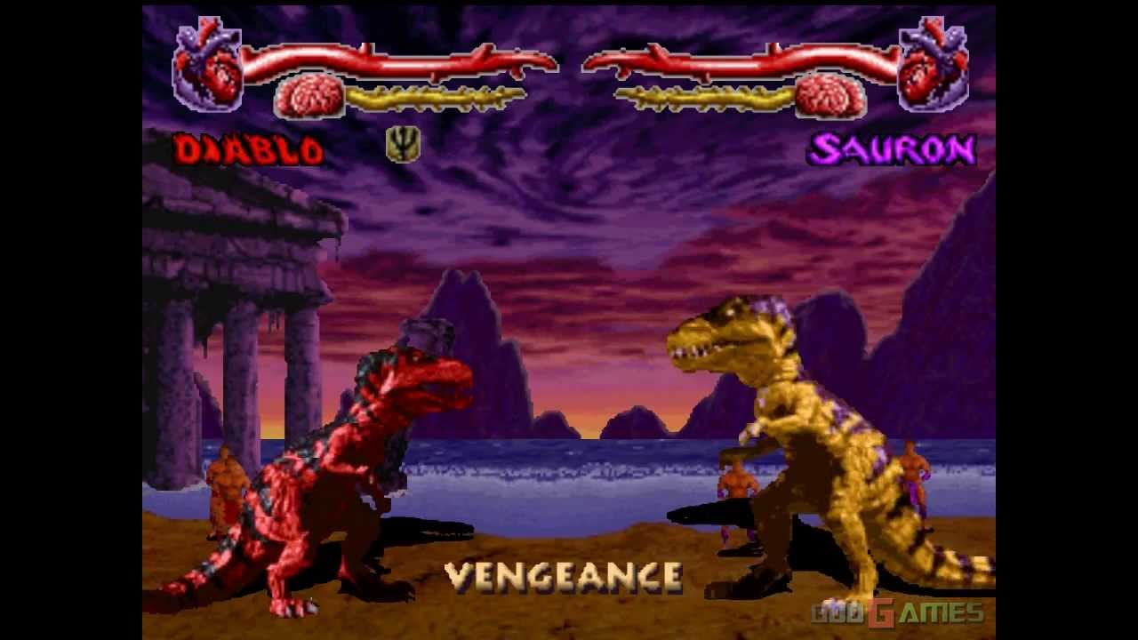 Primal Rage - Gameplay PSX / PS1 / PS One / HD 720P (Epsxe ...