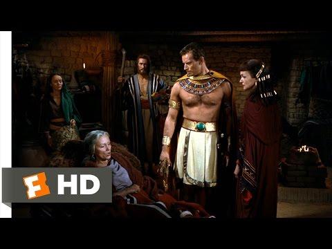 The Ten Commandments (5/10) Movie CLIP - Moses Meets His Real Mother (1956) HD