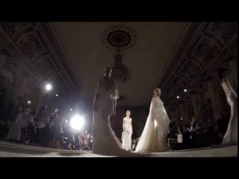 Berta Bridal Spring/Summer 2016 at New York Fashion Week - Finale from YouTube · Duration:  16 seconds