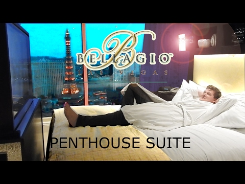 Bellagio Las Vegas - Penthouse Suite tour