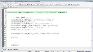 Урок 2. Установка компонентов Joomla