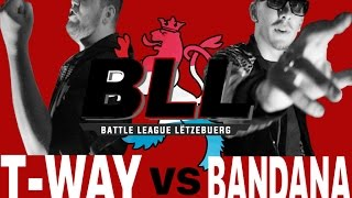 BLL XMAS - T-WAY vs BANDANA - Titelmatch