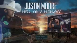 Justin Moore's Hell on a Highway Tour, April 21, 2018! Mp3