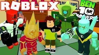 ROBLOX! -BEN 10 REBOOT HAS THE BEST ALIENS OF THE OMNITRIX? -INCREDIBLE BEN 10 SIMULATOR