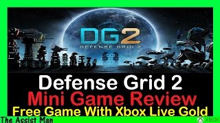 Defense Grid 2 Review Free Game With Xbox Live Gold May 2016 Gameplay