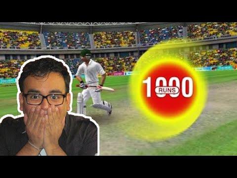 How to hack runs in wcc 2 : I got 1000 runs in Test