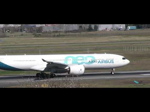 Rejected Take off ( RTO ) Airbus A330-941 Neo (4 k cinemascope )
