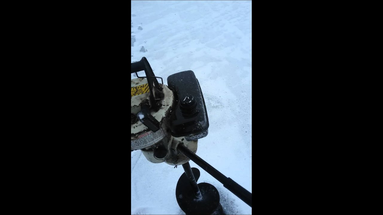1974 Jiffy model 30 ice fishing auger, 3HP Tecumseh with 8 inch auger PART 1