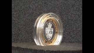 2013 Golden Guinea £2 Two Pound Silver Proof Coin Royal Mint