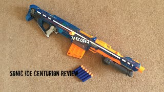 Nerf N-Strike Elite Sonic Ice MEGA Centurion Unboxing, Review & Firing Test
