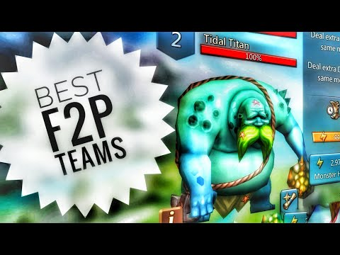 Lords Mobile - Best F2P Tidal Titan Monster Hunting Team