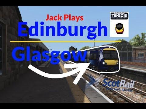 Jack Plays: Train Simulator - Edinburgh Waverley - Glasgow Queen Street