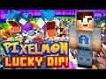 "Minecraft PIXELMON - Lucky Dip #1 w/ Ali-A! - ""POKEMON LUCK!"""