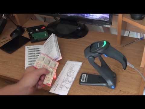 Сканер штрих кода, Datalogic QW2100