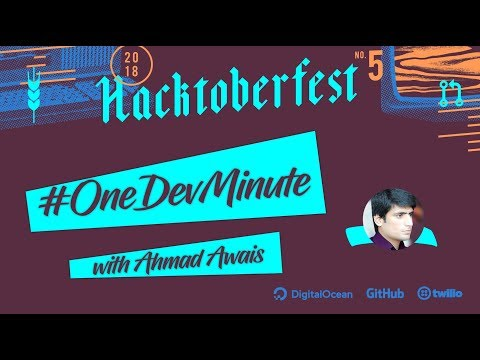 Create A Github Pull Request - Contribute to Open Source #OneDevMinute  #Hacktoberfest