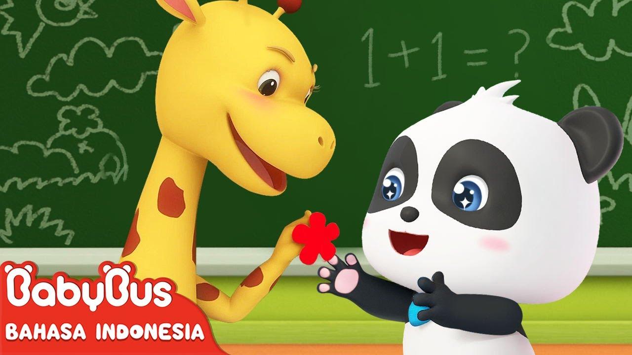 Kiki Ingin Mendapat Stiker Bunga Merah Kecil | Kartun Anak | Animasi Anak | BabyBus Bahasa Indonesia