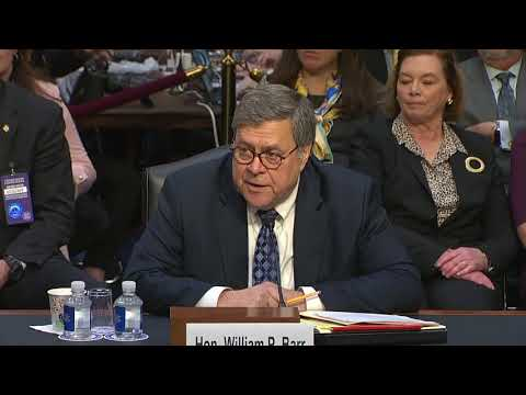 WATCH: Barr says he didn't ask Deputy AG Rosenstein to leave Justice Dept.