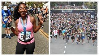 Running My First Marathon | LA Marathon | Nikkibeautybliss