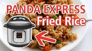 Instant Pot Fried Rice (PANDA EXPRESS copycat) | Step by Step Instant Pot Recipe