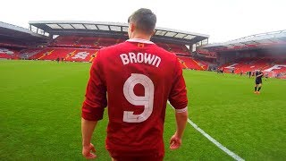 PLAYING in a REAL MATCH!! (Anfield 2017)