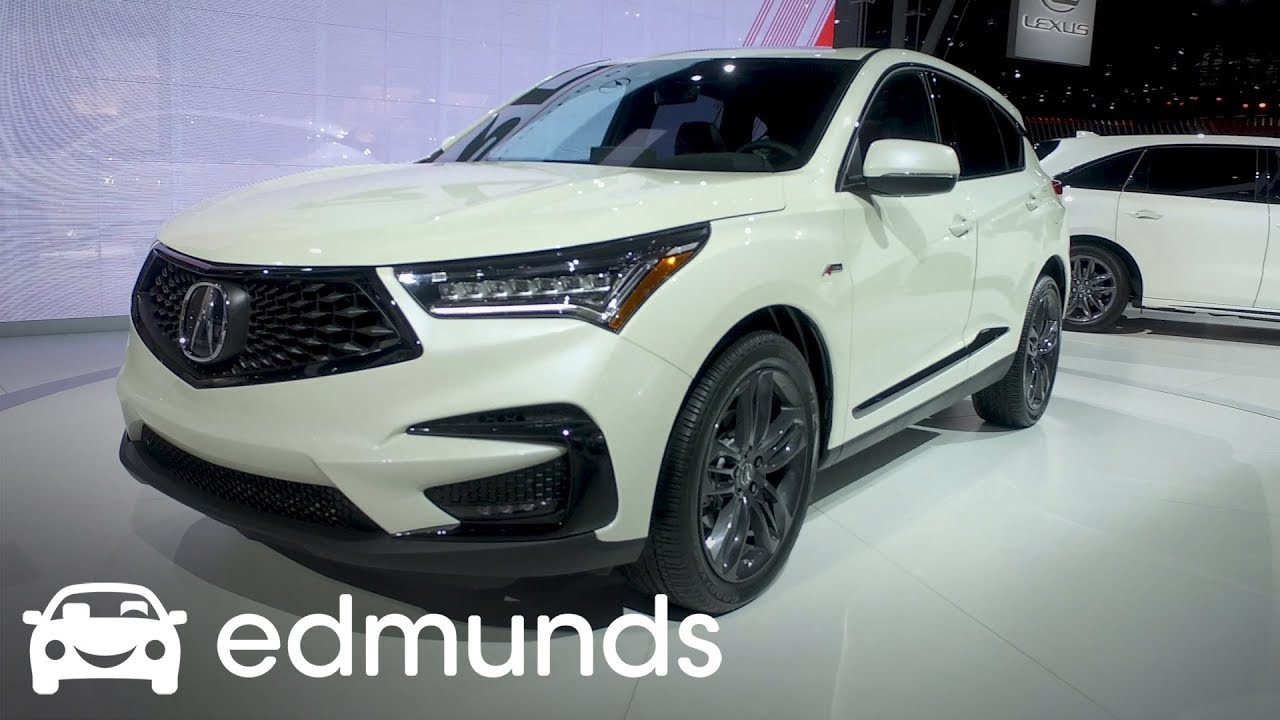 2019 Acura RDX | First Look | Edmunds - YouTube