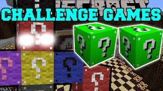 Minecraft: LUCKY BLOCK BOSS CHALLENGE GAMES - Lucky Block Mod - Modded Mini-Game