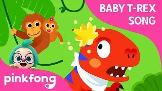 A T-Rex Went to Jungle | Baby T-Rex Songs | Dinosaur Songs | Pinkfong Songs for Children
