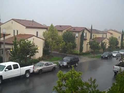 Thunderstorm, Irvine, Orange County, California
