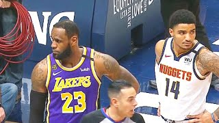 Lakers DISRESPECTED By Nuggets Fan Who Gets Ejected & Anthony Davis Takes Over! Lakers vs Nugget