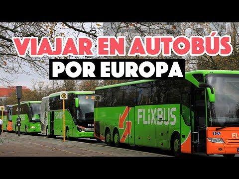Viajar en autobús por Europa - Flixbus