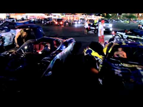 Max Cooper and Eve in Vegas Gumball 3000 2015