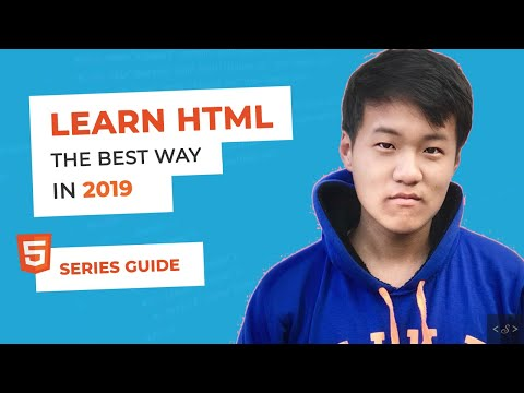 [Best way] Learn HTML in 2019 : HTML tutorial for beginners (2019) thumbnail