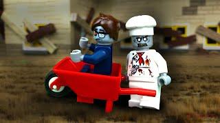 Зомби Нашествие в Лего Сити 🔵 Лего Мультик 🧟