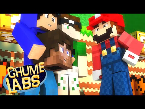 Minecraft: SUPER MARIO?! (Chume Labs 2 #6)