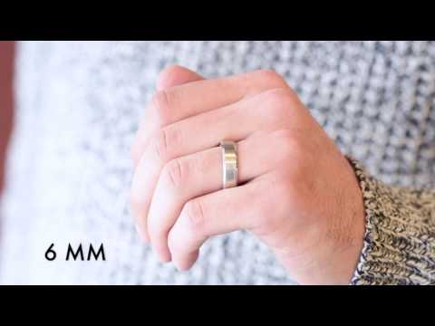 ad8a711b0 Men's Wedding Bands - Which Width Is Right For You? - YouTube