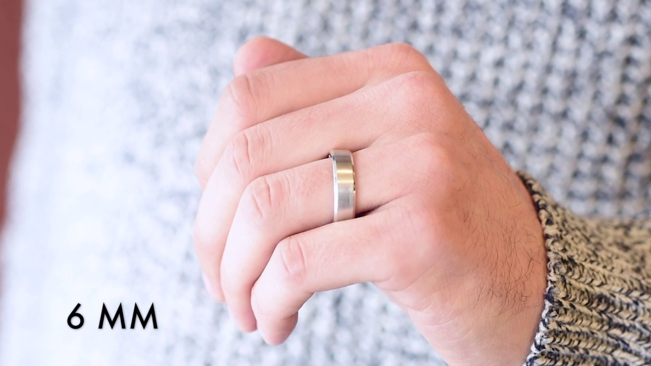 Men\'s Wedding Bands - Which Width Is Right For You? - YouTube