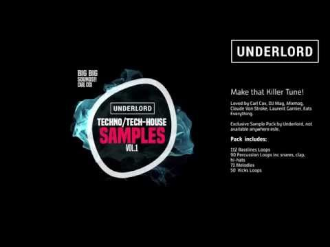 Killer Techno/Tech House loop Sample Pack Vol 1 - By Underlord