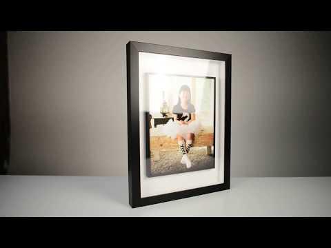 11x14 glass tube frame