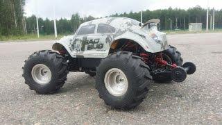 БЮДЖЕТКИ ... Тест-драйв Жука ... Basher Mini Monster 4WD V2