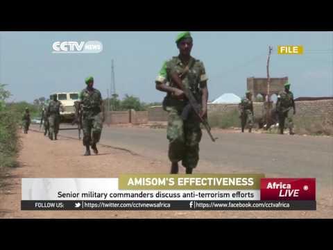 Senior AU military commanders discuss Somalia anti-terrorism efforts