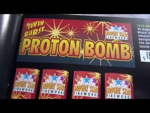 Bright star fireworks brochure 2000