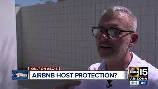 Gambar cover Man says Airbnb ignored host protection guarantee