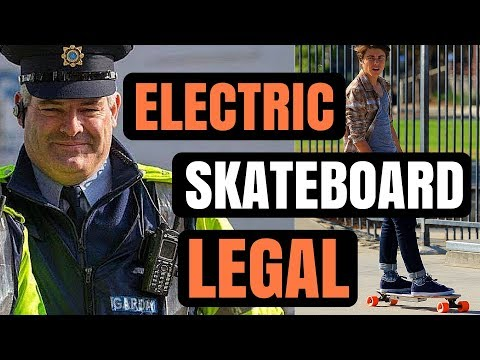 Electric Skateboarding is Officially LEGAL in Ireland  #elec