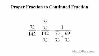 Fractions - Part 4: Continued Fractions and Approximations