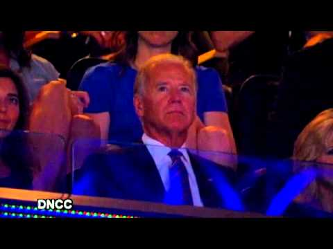 Joe Biden Cries Upon Being Nominated by Son at DNC